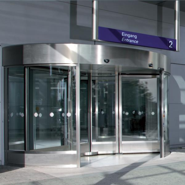 GGR large-capacity revolving door