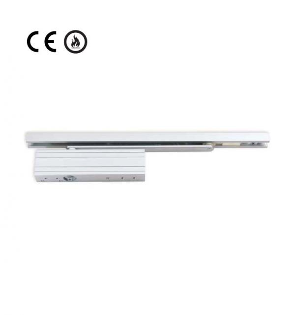 Door Closer Concealed Rack & Pinion With Track Arm