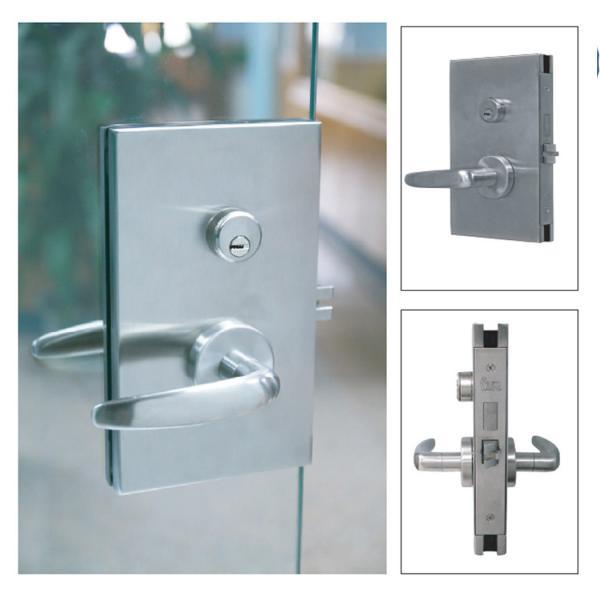 TA1200 Series Glass Patch Locksets