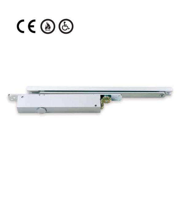 Door Closer Concealed Cam Action System With Track Arm